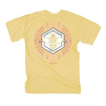 Sweeter Than Honey Tee in Summer by Lily Grace