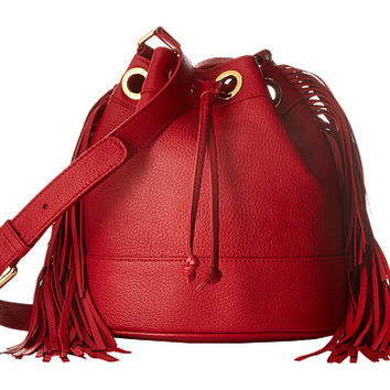 Boutique Moschino Fringes Bucket Bag