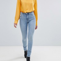 Weekday Thursday High Waist Skinny Jean at asos.com