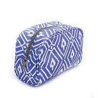 Makeup Bag Piper Periwinkle 1 Peter 3:4 Canvas-like 8 x 4 inch Cosmetic Bag