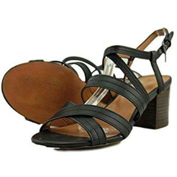 bfc4ff54e3f7 CREY3DS Coach Terri Women Black Sandals Size  6M