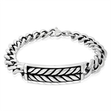 Awesome Shiny New Arrival Great Deal Hot Sale Gift Stylish Chain Strong Character Music Punk Fashion Accessory Titanium Bracelet [6542699843]