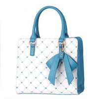 Nice Starry Sky Bowknot Handbag Shoulder Bag