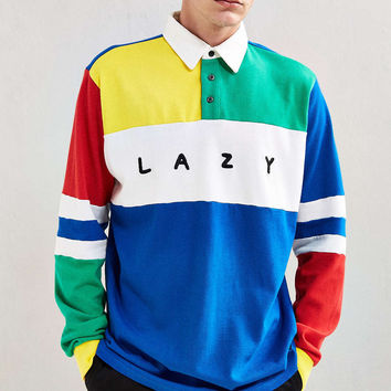 Lazy Oaf All Teams Rugby Shirt - Urban Outfitters