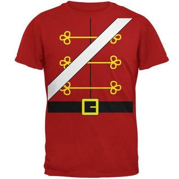 DCCKU3R Christmas Toy Soldier Nutcracker Costume Mens Soft T Shirt