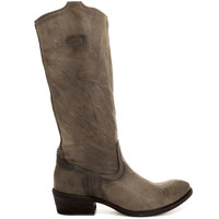 Frye Shoes - Carson Tab Tall 77207 - Charcoal