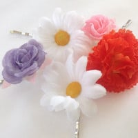 Rapunzel Hair Accessory Flowers Cosplay Disneybound, See the Light by Design Bowtique