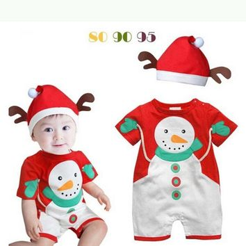Christmas Baby Rompers Costumes For Boys Santa Claus Baby Outfits Baby Girl Clothes Newborn New Year Jumpsuit Wear Overalls