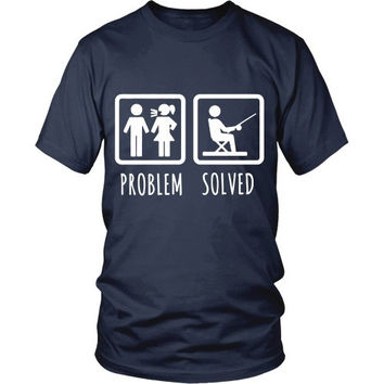 Fishing T Shirt - Problem Solved