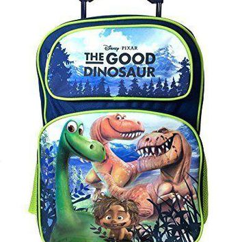 Disney The Good Dinosaur Large Rolling Backpack 16""