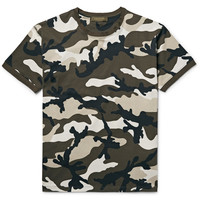 Valentino - Slim-Fit Camouflage-Print Cotton-Jersey T-Shirt
