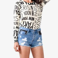 Global Cities Sweater | FOREVER 21 - 2027705192