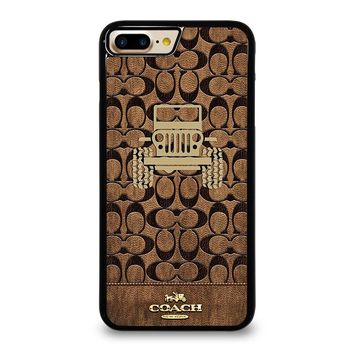 COACH NEW YORK JEEP iPhone 7 Plus Case