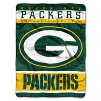 Green Bay Packers NFL Micro Raschel Blanket (12th Man Series) (46in x 60in)