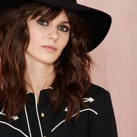 Nasty Gal Covert Wool Hat