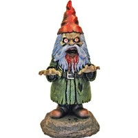 Light-Up Zombie Garden Gnome Prop - One Size