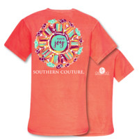 Southern Couture Have Joy Arrows Comfort Colors T-Shirt