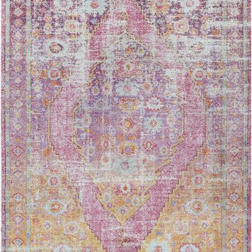 Surya Antioch Transitional Pink AIC-2304 Area Rug