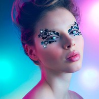 Face Lace Limited Edition Starway 2 Heaven - Festival Make-Up Design