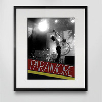 Paramore / Hayley Williams Original Concert Photo Print - 8x10