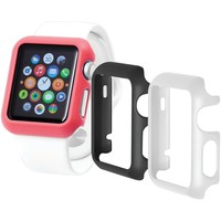 Trident Case Odyssey Guard For Apple Watch 3 Pk (38mm Black And White And Pink)