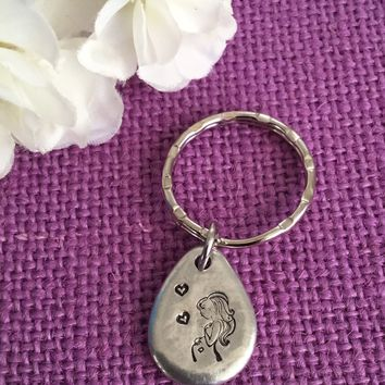 Expecting Mom Gift - Mommy to Be Keychain  - Baby Shower Gift - Pregnant Mom - Pregnancy gift - celebration jewelry