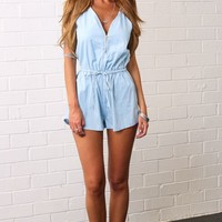 HelloMolly | Gold Panning Playsuit