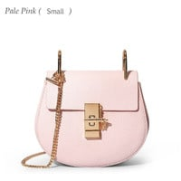 LACATTURA women messenger bags cowhide leather handbag ladies Chain shoulder bags clutch fashion crossbody bag brand candy color-in Shoulder Bags from Luggage & Bags on Aliexpress.com | Alibaba Group