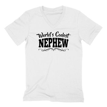 World's coolest nephew the best nephew birthday gift ideas for him number one nephew  V Neck T Shirt