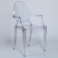 Louis Transparent plastic chair.Plastic chairs-in Dining Chairs from Furniture on Aliexpress.com | Alibaba Group