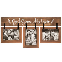 God Gave Me You Wood Collage Frame | Hobby Lobby