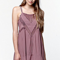 LA Hearts Sleeveless Lace Inset Tunic Top at PacSun.com