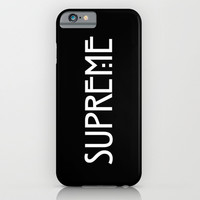 THE NEXT SUPREME // AMERICAN HORROR STORY COVEN iPhone & iPod Case by Lukas Emory