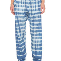 Obey Keegan Pant in Blue Tie Dye