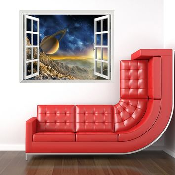 Star Home Decor Art COSMOS Window New Wall Removable Stickers