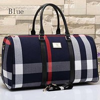 Perfect Burberry Women Travel Bag Leather Tote Handbag Shoulder Bag