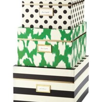 kate spade new york Nesting Boxes (Set of Three) | macys.com
