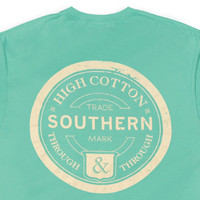 High Cotton | Southern Through & Through Pocket Tee - Emerald