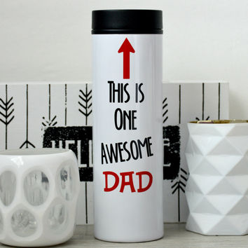 Awesome Dad Travel Tumbler