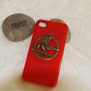 iphone case phone case iphone 4 or 5 hunger by MakeDesertGreen