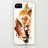 El Guepardo iPhone & iPod Case by Robert Farkas