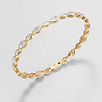 Adriana Orsini - Faceted Marquis Bangle Bracelet - Saks Fifth Avenue Mobile