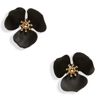 Shashi Lily Flower Stud Earrings | Nordstrom