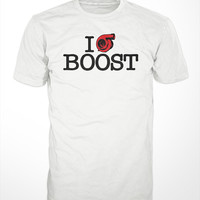 Car T-Shirt - boost turbo engine mens t-shirts racing turbocharger fast tee shirt tuned screen printed Blow off valve intercooler tuned