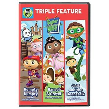n/a - Super WHY!: Triple Feature: Humpty Dumpty, Hansel & Gretel, and Jack and the Beanstalk