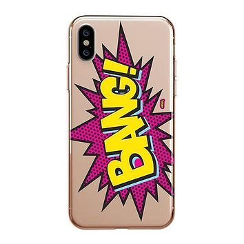 Bang! - iPhone Clear Case