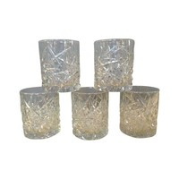 Pre-owned Lo-Ball Cocktail Glasses - Set of 5