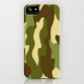 CAMO iPhone & iPod Case by Bruce Stanfield