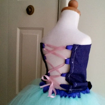Little Mermaid tutu outfit costume