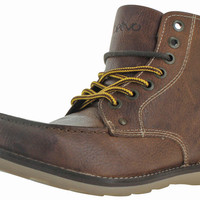 Crevo Buck Men's Carpenter Leather Boots